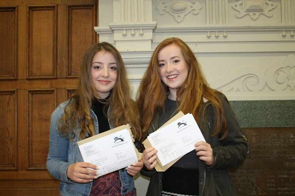 """There were some oustanding results at Oswestry School were one third of all grades were awarded A or A*.Julian Noad, Headmaster, commentedL """"As ever, ..."""