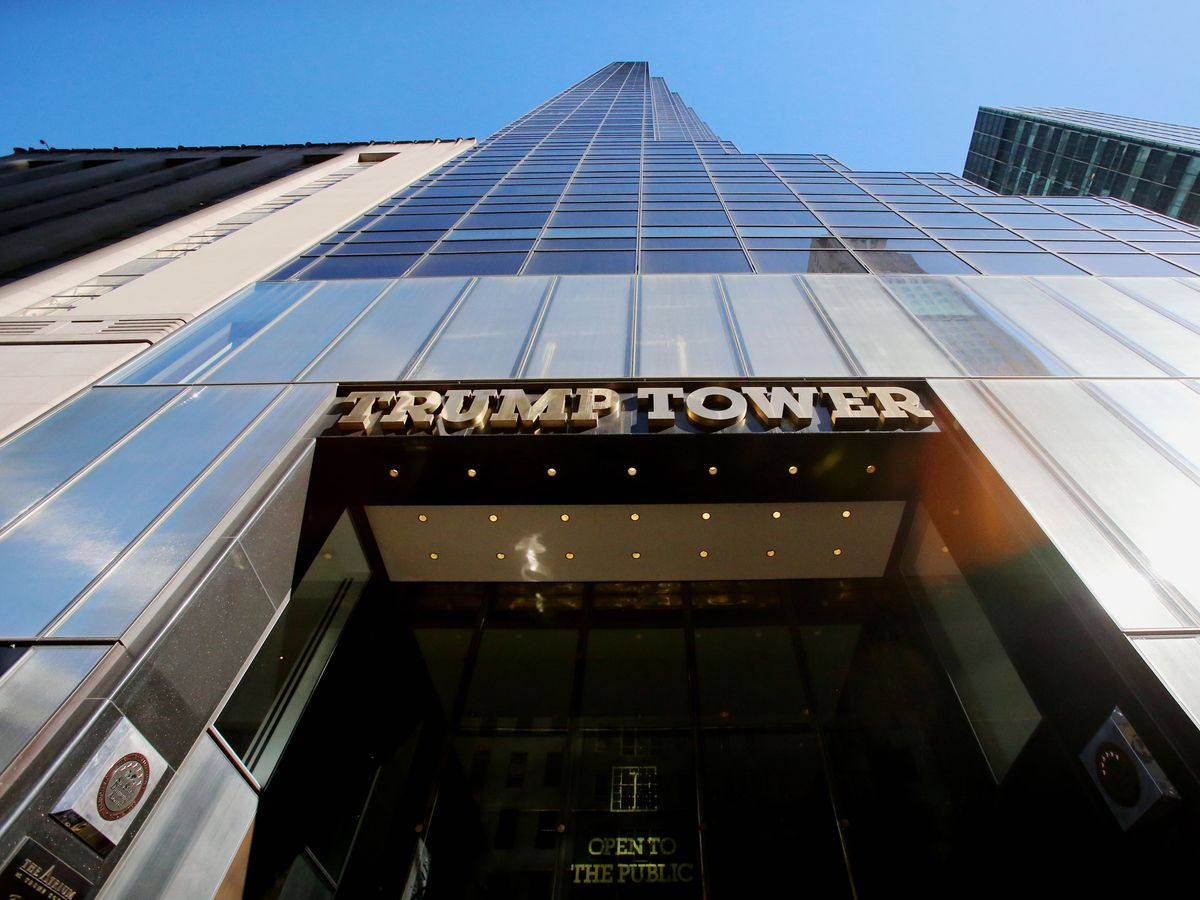 Trump Tower in New York (Niall Carson/PA)