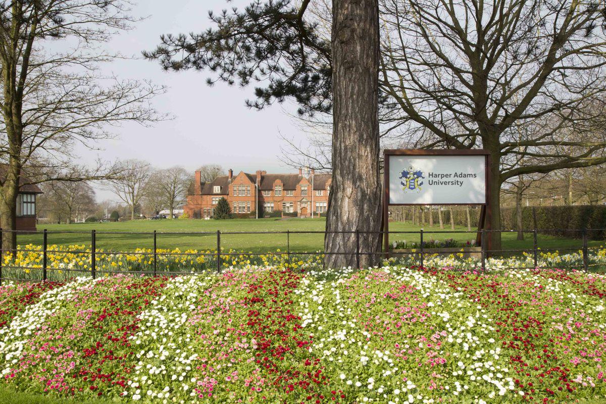 Harper Adams University is third among West Midlands universities in the new guide