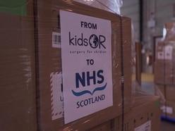 Ninewells Hospital receives 10 'ventilators' from children's charity