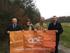 apT helps restore popular Telford bridleway
