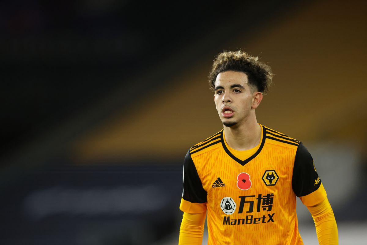 Rayan Ait-Nouri of Wolverhampton Wanderers (AMA)