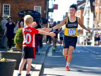 Half marathon for children launches in Shropshire