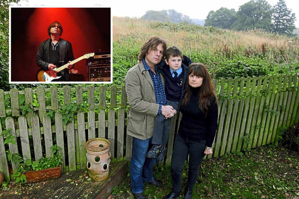 Former guitarist of The Verve Nick McCabe is not such a Lucky Man after Shropshire move
