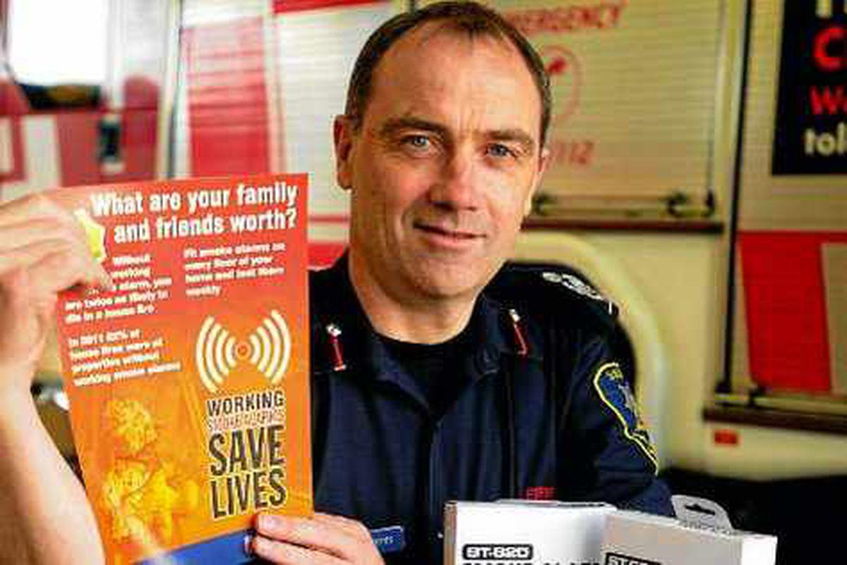 Fire chiefs praise Shropshire Star smoke alarm campaign