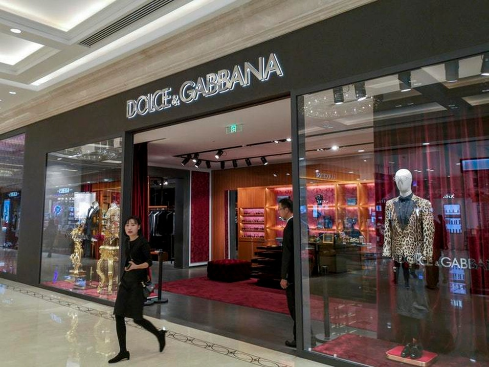 6b7070f7f996 Dolce And Gabbana goods pulled in China over alleged insults ...