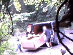 Caught on CCTV: Telford flytippers fined after unloading van