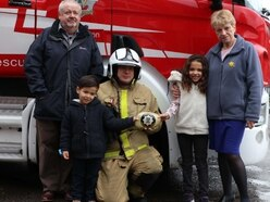 'Flames Aren't Games': Shropshire firefighter's rock solid fire safety idea a hit with children