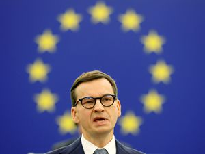Poland's Prime Minister Mateusz Morawiecki