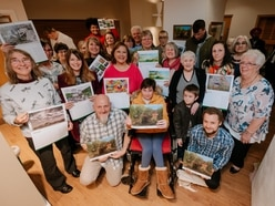Calendar entries on display in Telford exhibition