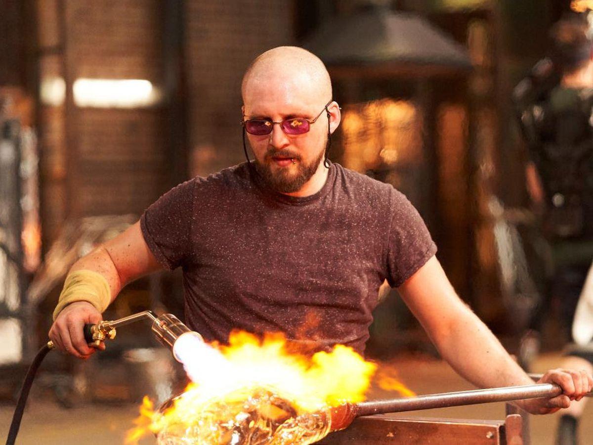 Elliot Walker appeared on Netflix show Blown Away