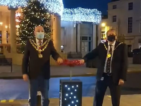 Bridgwater Christmas lights switch-on