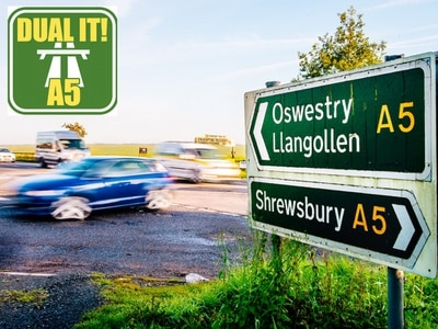 Dual the A5 campaign: Upgrade to Shropshire road will drive opportunities