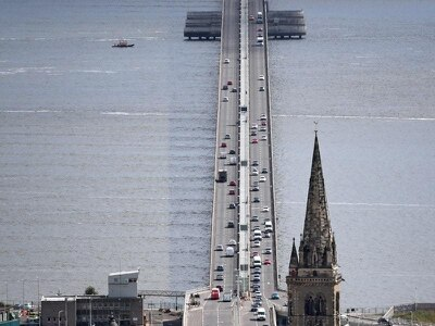 Tay Road Bridge closed to all traffic in high wind aftermath of Storm Dennis