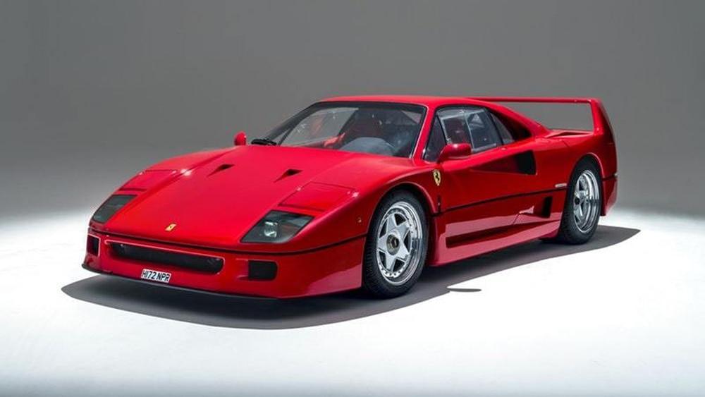 Ferrari F40 Set To Sell For Almost 1 000 000 Shropshire Star