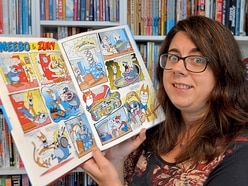 We meet the Wolverhampton woman who is an illustrator for Beano