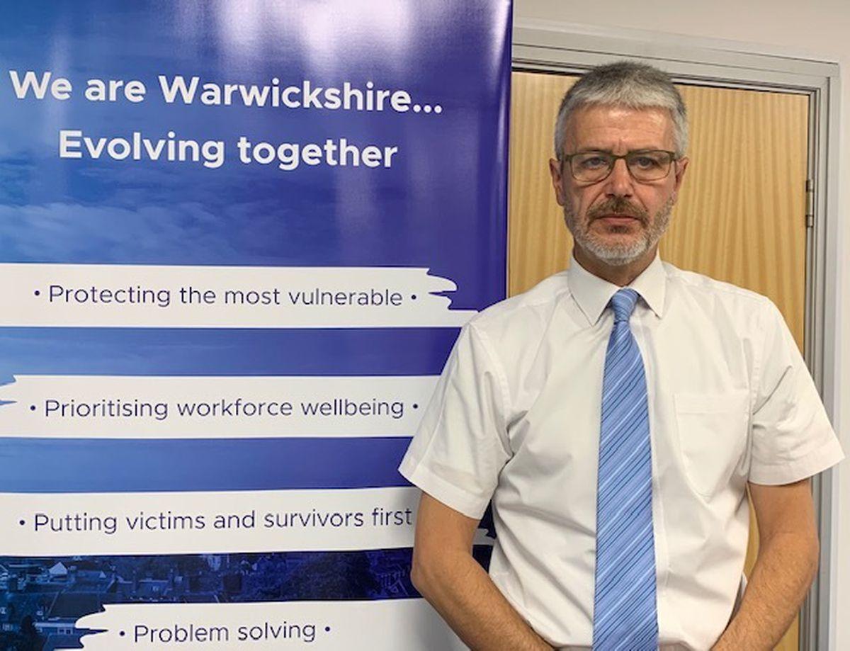 Chairman of Warwickshire Police Federation, Pc Simon Payne