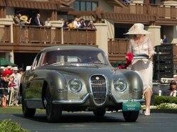 Classic Jaguar's restoration lands top award for Bridgnorth firm – again