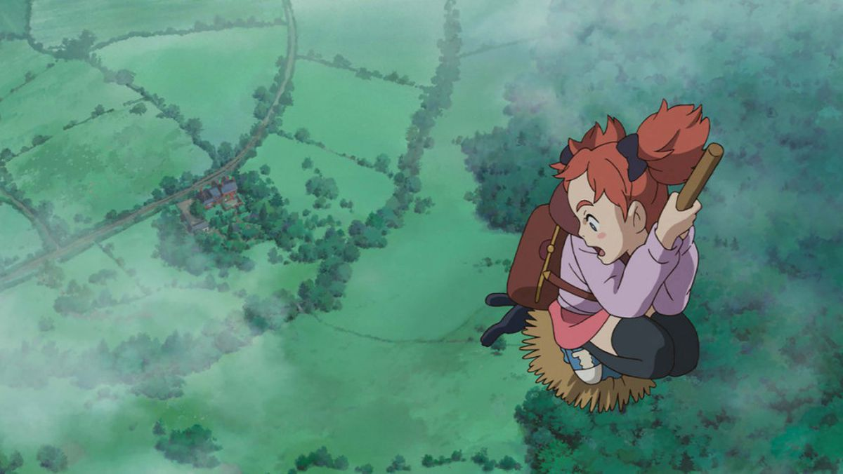A still from Mary and the Witch's Flower