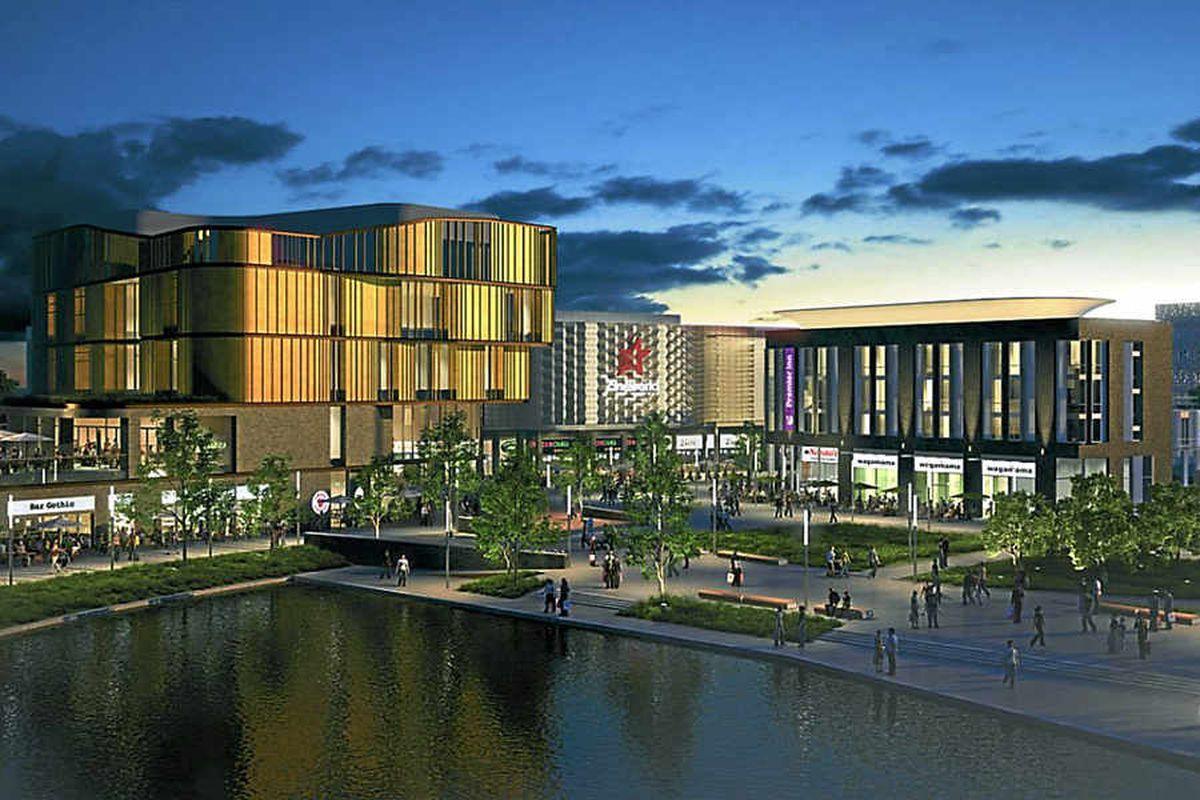 The multi-million pound Southwater development