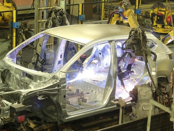 UK vehicle manufacturing at three-year low as carmakers halt production