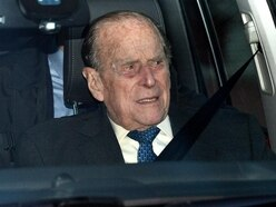 Philip shocked but not hurt in crash while driving near Sandringham