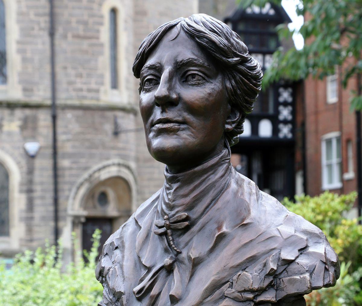 Bust of Mary Webb