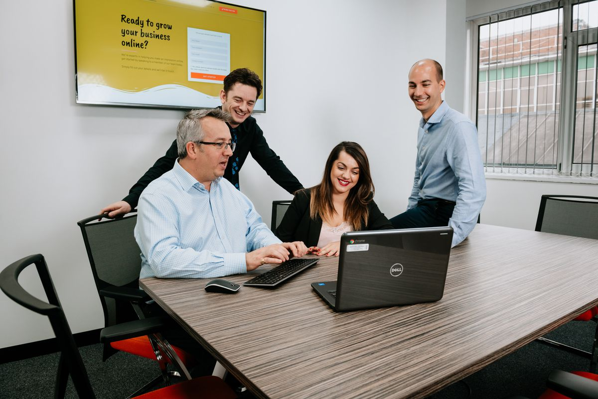 The team at MNA Digital can help get your business noticed online fast