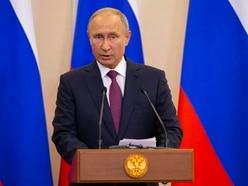 Putin blames military plane crash on tragic circumstances