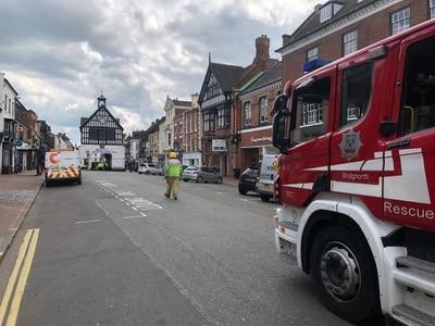 Bridgnorth High Street evacuated over potential gas leak