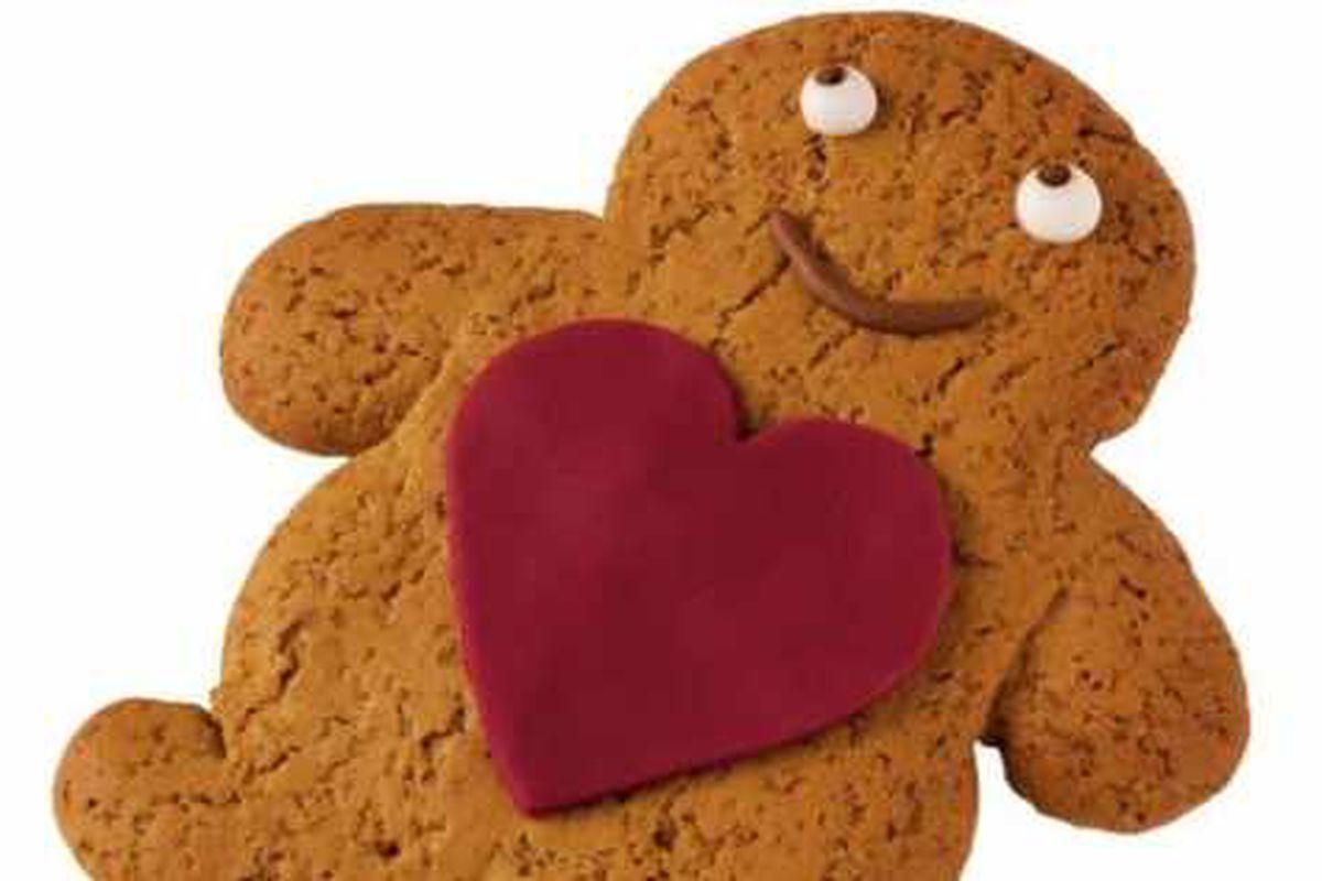 Gingerbread man? No, it's gingerbread person