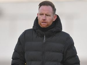 TELFORD COPYRIGHT MIKE SHERIDAN Telford boss Gavin Cowan during the Vanarama Conference North fixture between AFC Telford United and AFC Fylde at the New Bucks Head Stadium on Saturday, January 9, 2020...Picture credit: Mike Sheridan/Ultrapress..MS2021-054.
