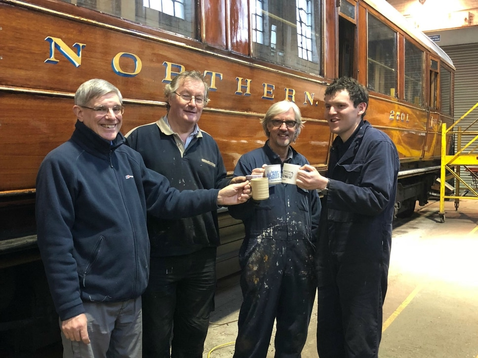Severn Valley Railway reach initial fundraising target to repair vandalised carriages