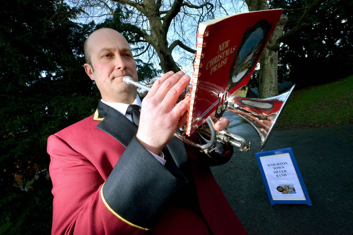 Knighton Town Silver Band chairman Andy Beckingham said members of the group hope to set up a training band