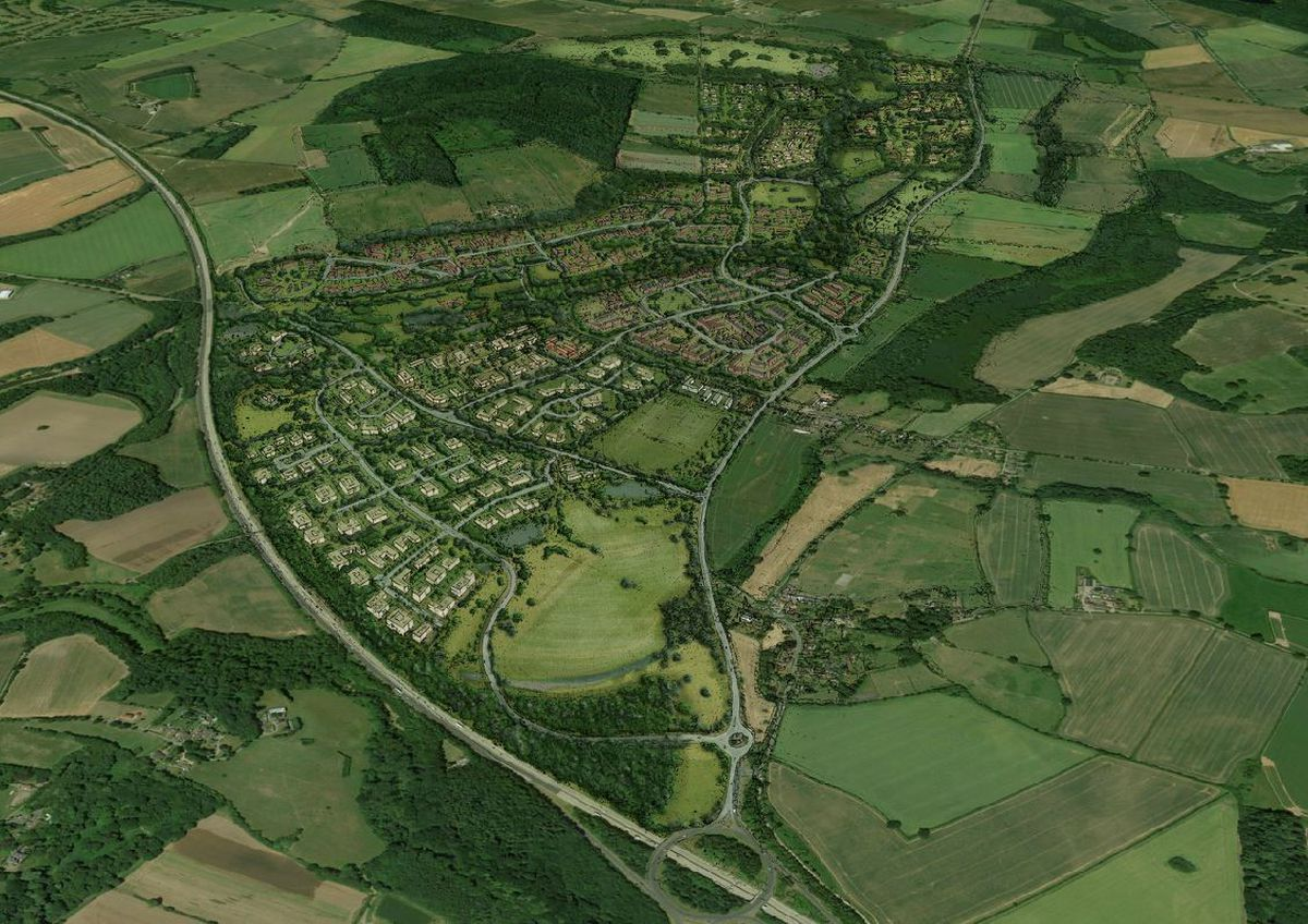 An image of how the site in Tong could look