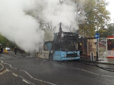 Driver praised for protecting passengers in Coventry bus blaze