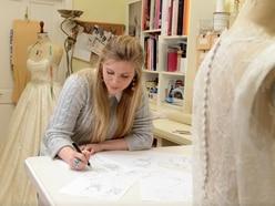 I make a bride feel beautiful: Shropshire wedding dress maker and her dreamy designs