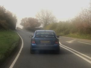 Police said they stopped the car on the A41. Picture: Newport Cops