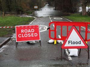 Don't drive through floods warning