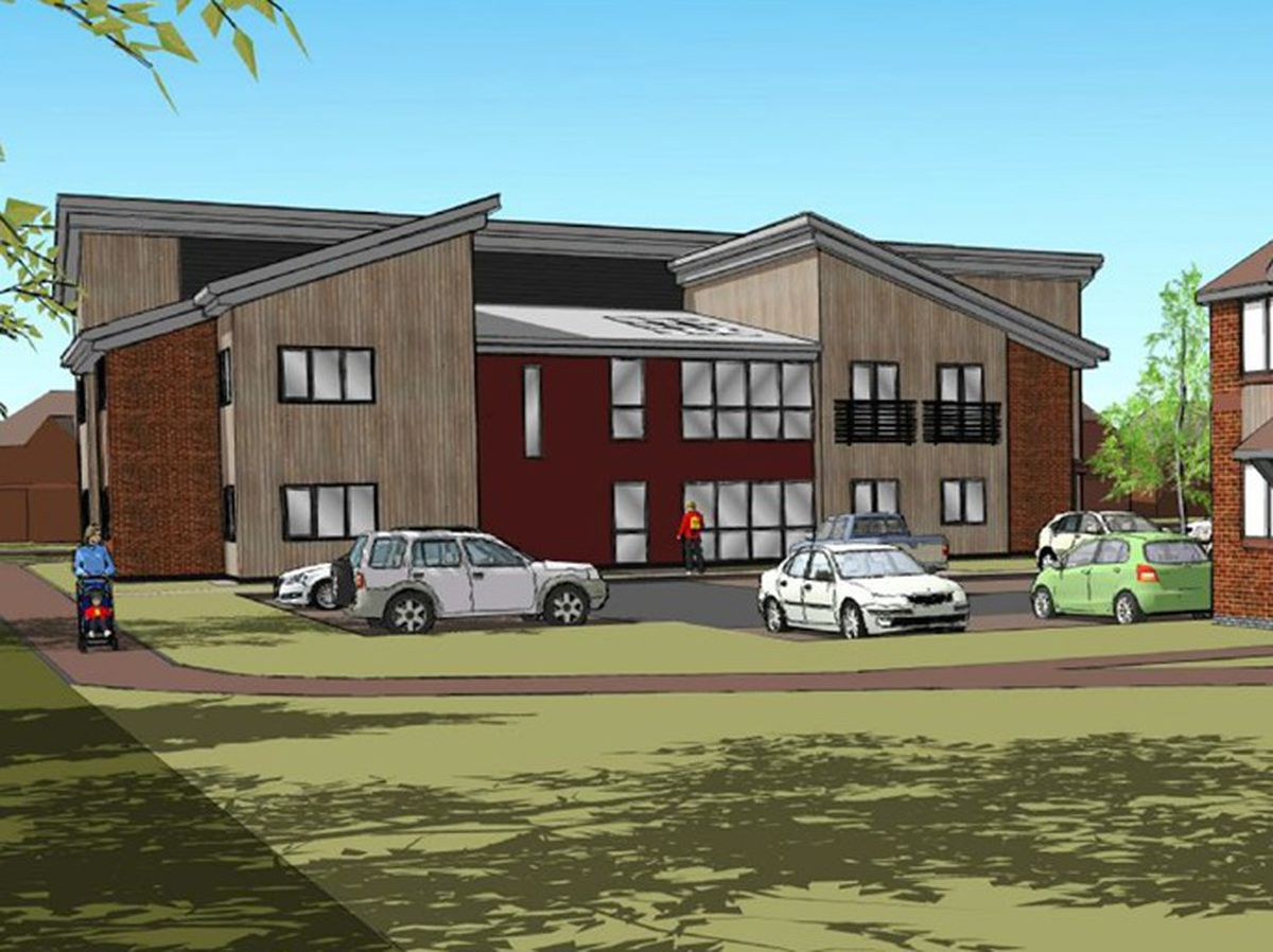 An artist's impression of the new facility