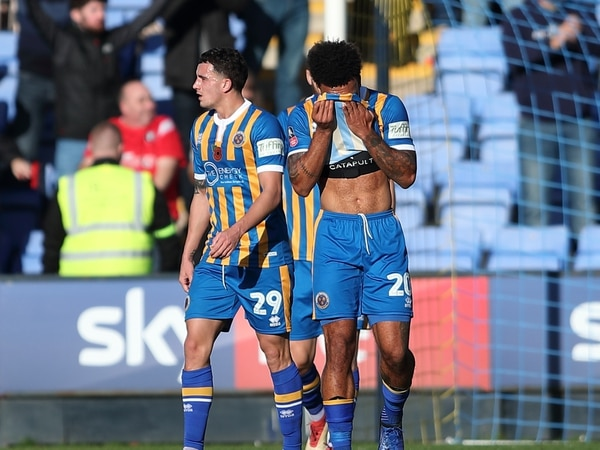 FA Cup: Shrewsbury 1 Salford City 1 - Report and pictures