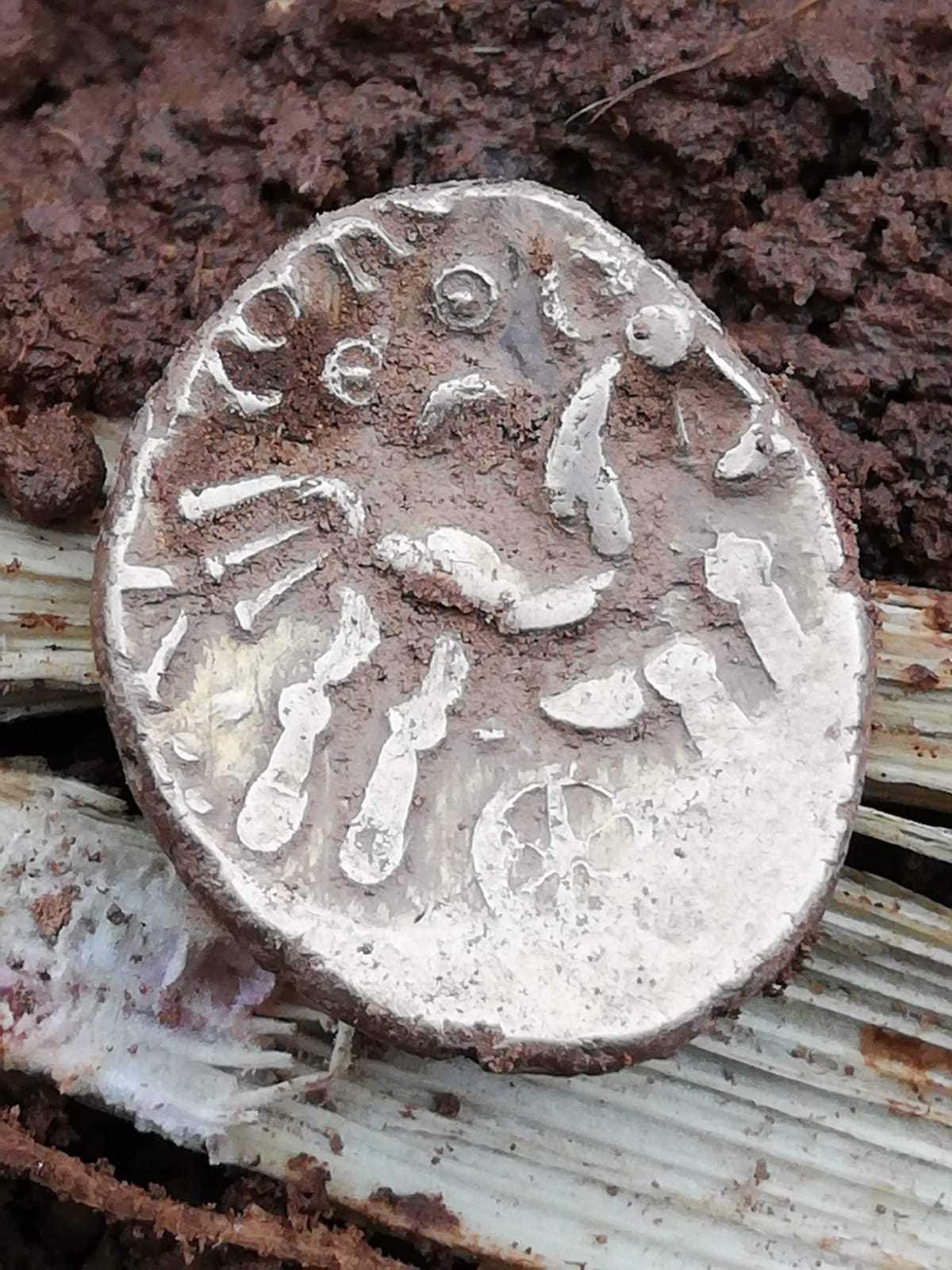 The gold corio coin