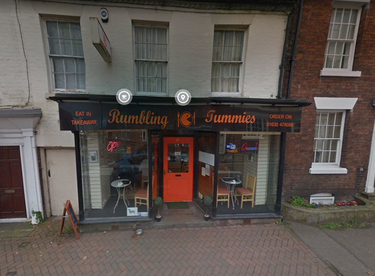 Rumbling Tummies Cafe and Bistro in Market Drayton. Pic: Google