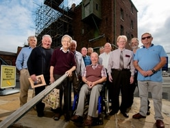 Trip down memory lane for ex-Flaxmill workers as restoration continues