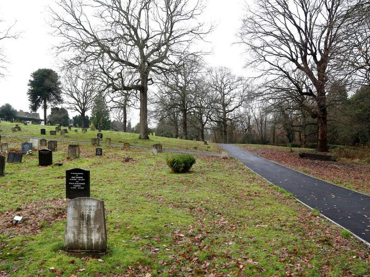 The area in Haywards Heath Cemetery, West Sussex, where a headless and handless body known as the 'Bolney Torso' was originally buried