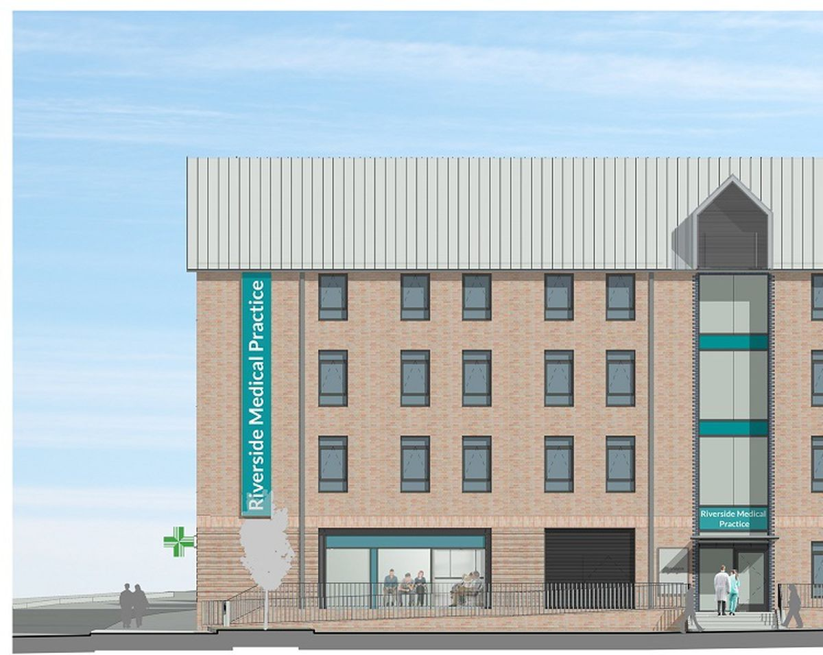 An artist's impression of the new medical practice