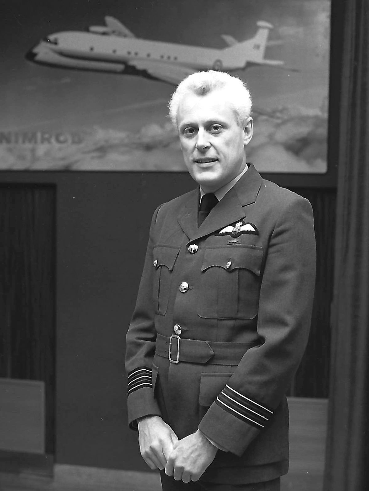 Wing Commander – later Group Captain – Mike Clegg, who served in the RAF and in Italy with Nato.