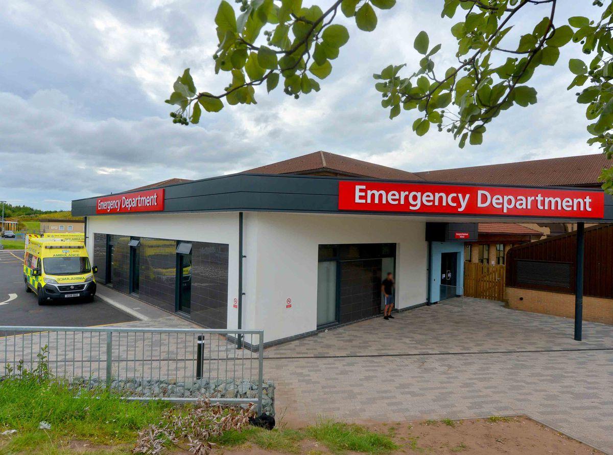 The emergency department at Princess Royal Hospital, Telford