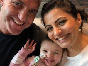 Simon, Mia and Anjna