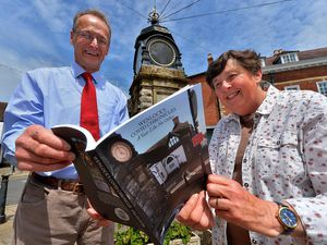 Paddy Ryan from A Ryan & Son butchers with former town councillor Mary Hill